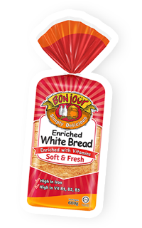 Bonjour Bread, Enriched White Bread